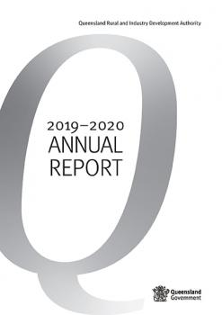 QRIDA's annual report front cover